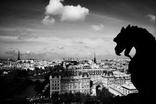 París desde Notre Dame.