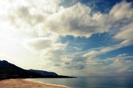 La playa de Cefalù.