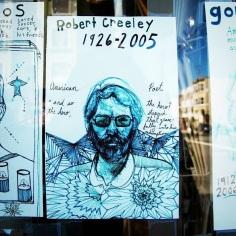 Robert Creeley en San Francisco.